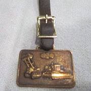 Vintage Watch Fob Komatsu, Ltd.