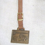 Vintage Watch Fob Ingersoll-Rand