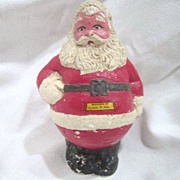 Old Chalk Santa Souvenir of Beulah, North Dakota