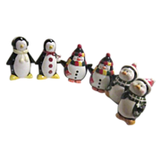 3 Sets Christmas Penguin S&P Shakers