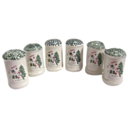 "3 Sets Christmas ""Let it Snow"" S&P Shakers"
