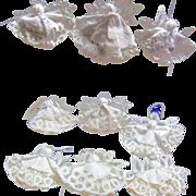 Set of 9 Napkin Christmas Angels