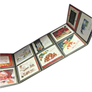 Christmas Card Sampler Sales Display