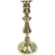 "8"" Tall Brass Candle Holder by Baldwin"