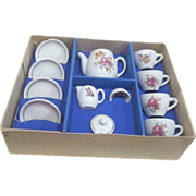 Child's Tea Set for Four