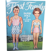 First Family Paper Doll and Cut-Out Book Reagan Family