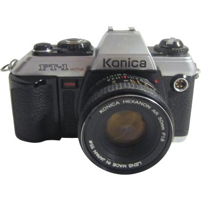 Konica Hexanon Ar 50 Mm Camera From Somethingwonderful On