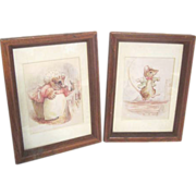 Two Framed Beatrix Potter Prints