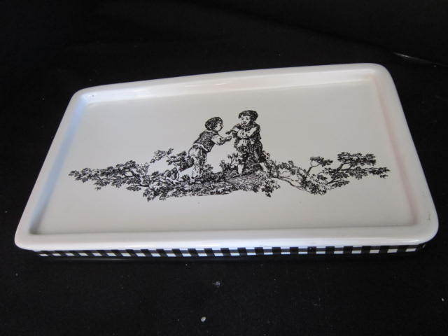 Vintage Waverly Ceramic Tray