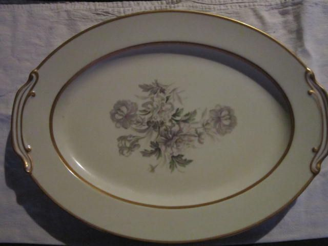 Small Vintage Noritake Ceramic Serving Plate