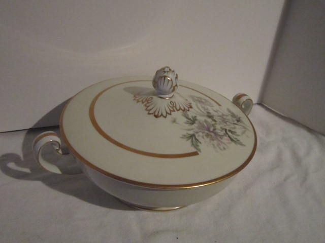 Vintage Noritake Ceramic Covered Serving Bowl