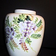 Vintage Chinese Ceramic Ginger Jar Without Lid
