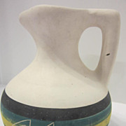 Vintage North American Indian Pitcher Signed J. Taylor