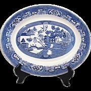 "Homer Laughlin Blue Willow 13"" Platter"