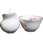 Regency Bone China from England Small Cream & Sugar