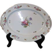 Dresdenia Oval Serving Platter Made in Occupied Japan by Aladdin