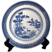 Booths Silicon China from England Lowestoft Deer Plate