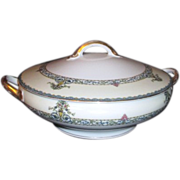 Noritake Covered Casserole Bowl Darby Pattern