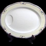 Haviland China Calcutta Pattern Meat Platter 1920-1925