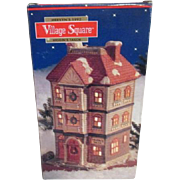 Mervyn's Christmas Village Square Ceramic Higgins Tailor