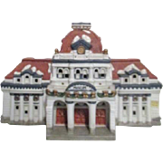 Mervyn's Christmas Village Square Museum Limited Edition