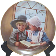 Decorator Plate Little Tutor 1983