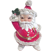Cheerful Spaghetti Santa Claus Christmas Planter