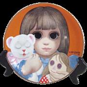 Margaret Keane Plate 1978 Bedtime