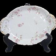 Theodore Haviland Limoges Antique Serving Platter Marie Pattern