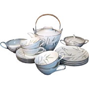 Noritake Bambina Pattern Dessert or Tea Set for Four