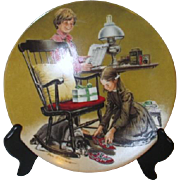 Edwin Knowles Father's Day Decorator Plate