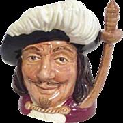 Royal Doulton Toby Mug Porthos of 3 Musketeers