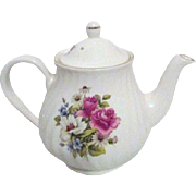 Arthur Wood & Son Staffordshire Teapot with Rose Bouquet
