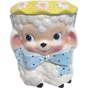 Rubens Lamb Cookie Jar