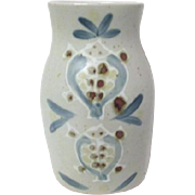 Pottery Vase with Marine Animal Motif