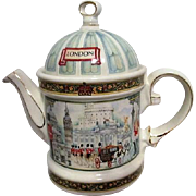 Sadler Teapot from England Horseguards Picture London Heritage Collection
