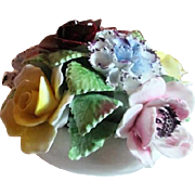 Royal Doulton Small Bowl with Ceramic Bouquet