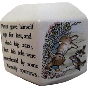 Wedgwood Bank with Peter Rabbit in the Garden