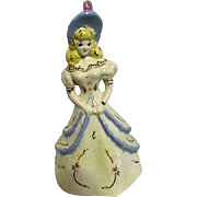 Ceramic Blonde Miss in Ball Gown