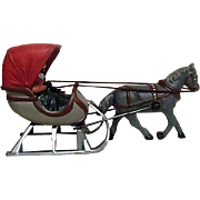 Dept 56 Horse and Sleigh Winter Figurine