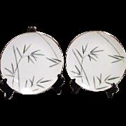 Noritake Platinum Trim Bambina Design 2 Salad Plate