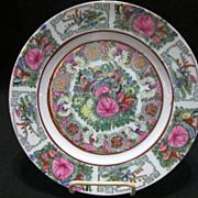 Vintage Hand Painted Oriental Plate
