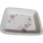 Mikasa Maxima Tremont Pattern Rectangular Serving and Baking Bowl