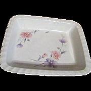 Mikasa Maxima Tremont Pattern Rectangular Serving and Baking Bowl