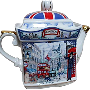 Sadler London Heritage Square Teapot England