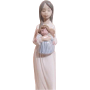 NAO Line of LLadro Young Girl with Doll