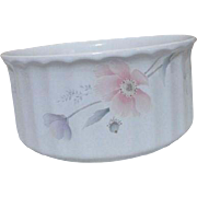 Mikasa Maxima Tremont Pattern Round Bake and Serve Casserole Dish