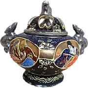 Japanese Moriage Incense Burner