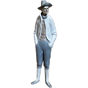 LLadro Tall Man Standing with Post