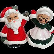 Josef Original Santa and Mrs. Claus Salt and Pepper Set